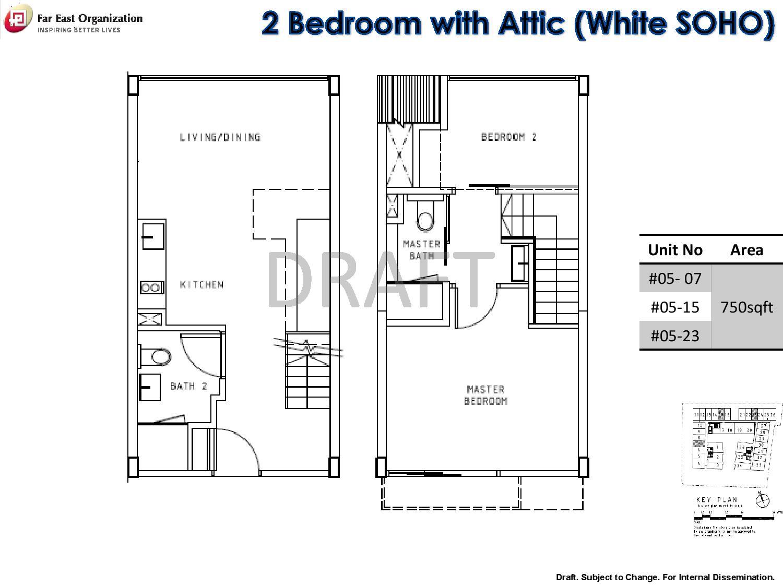 2 Bedroom Bijou Pasir Panjang