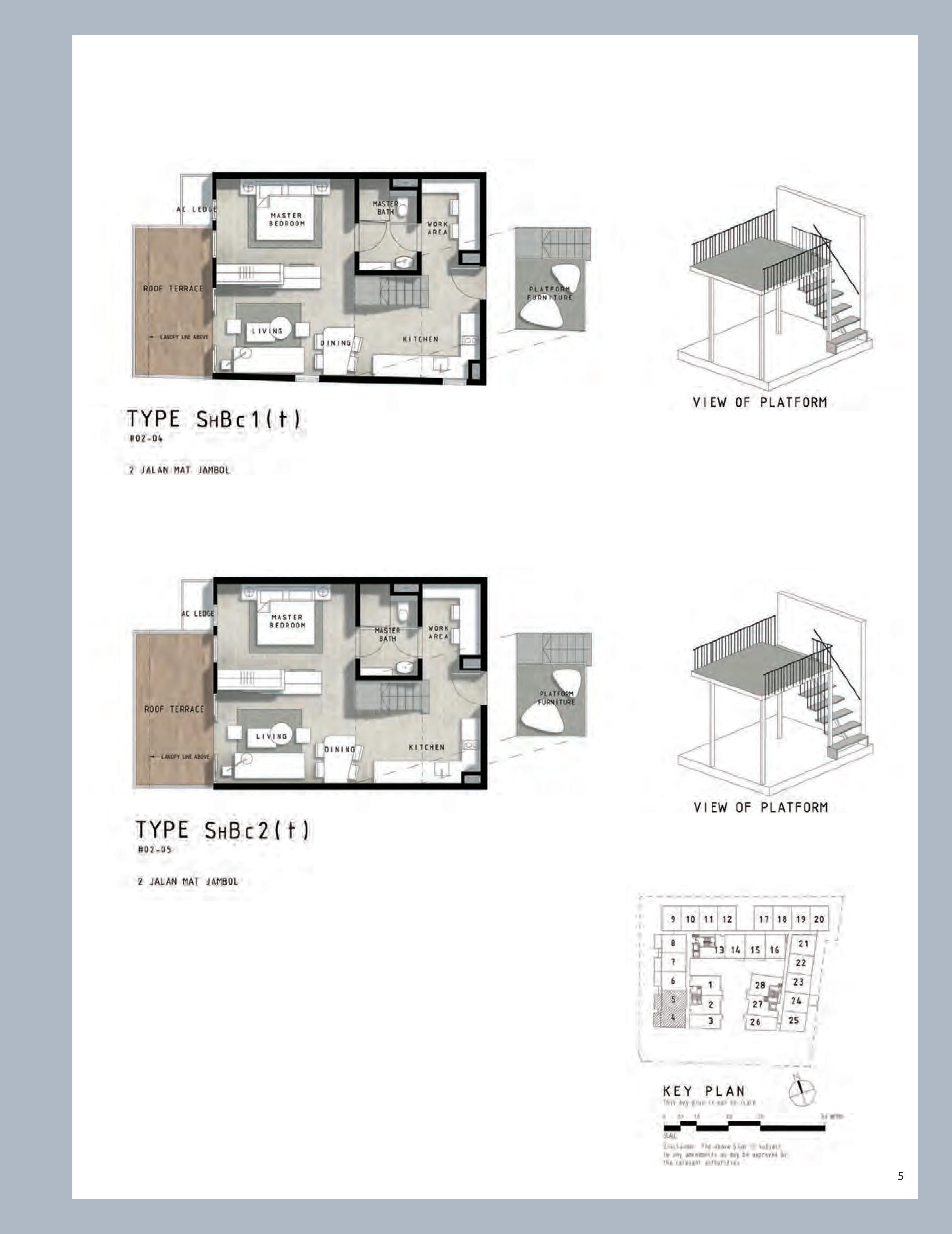 1 Bedroom Study Bijou Pasir Panjang
